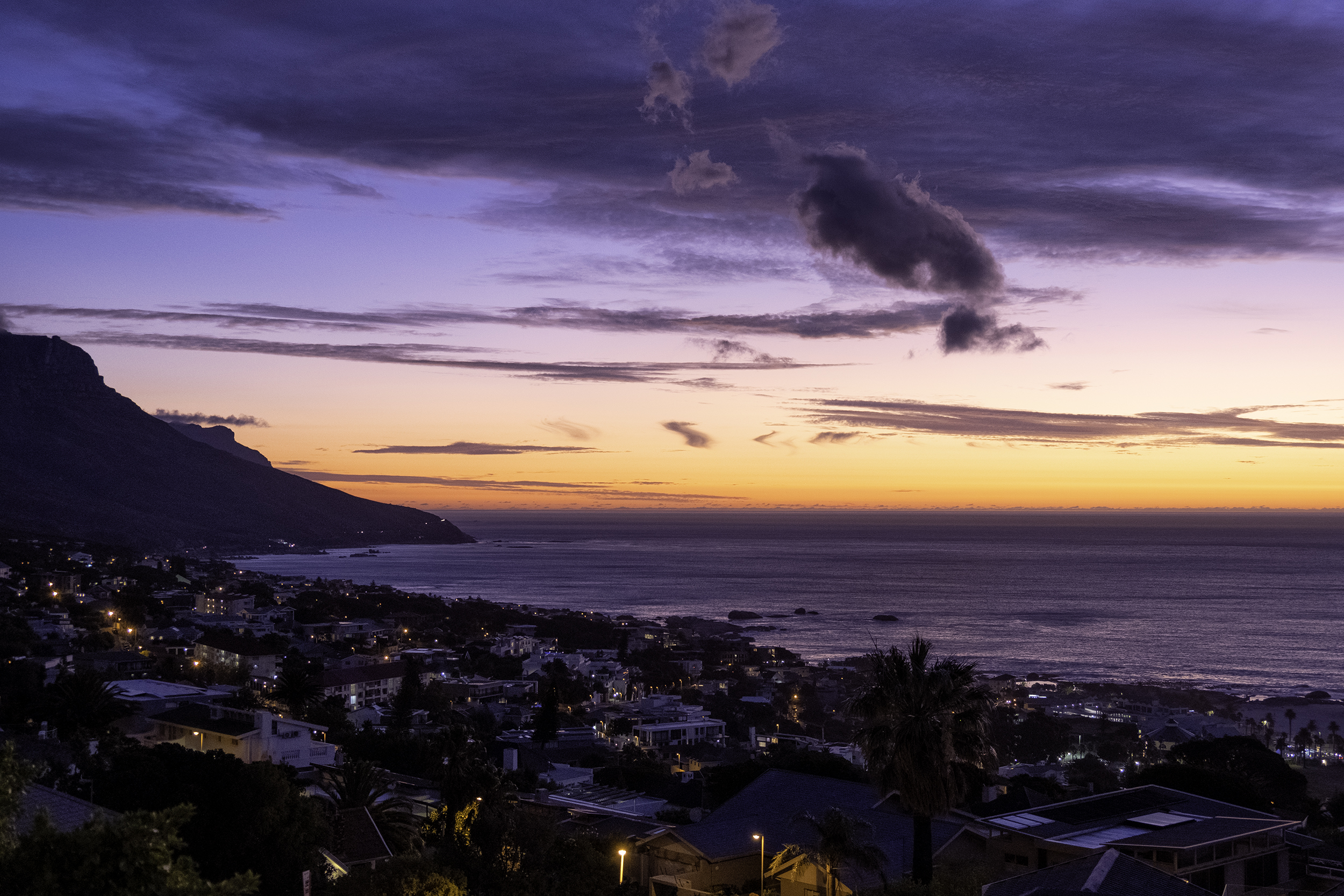 Camps Bay, February Evening