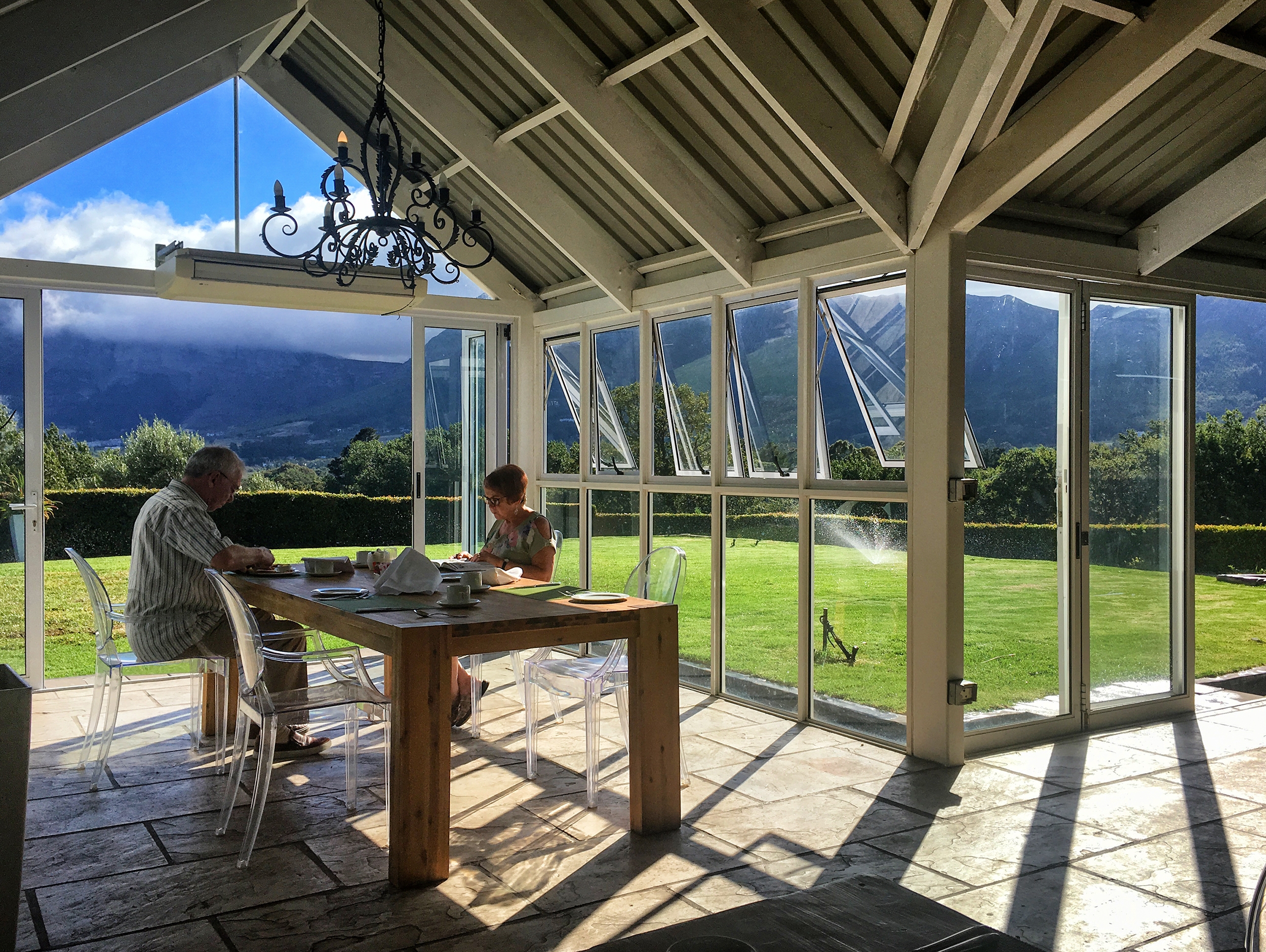 Le Franschhoek Hotel, SA, February Morning