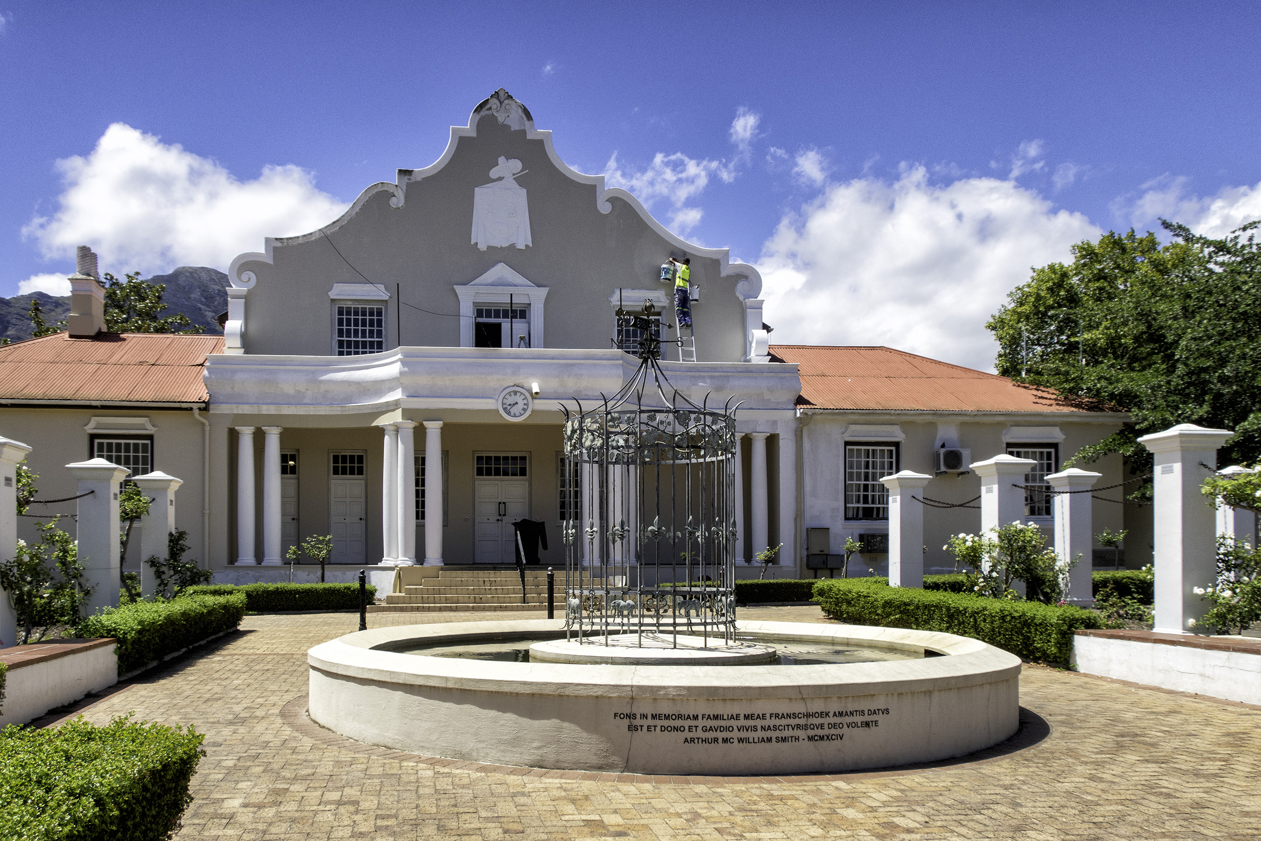 Franschhoek Town Hall, February Afternoon