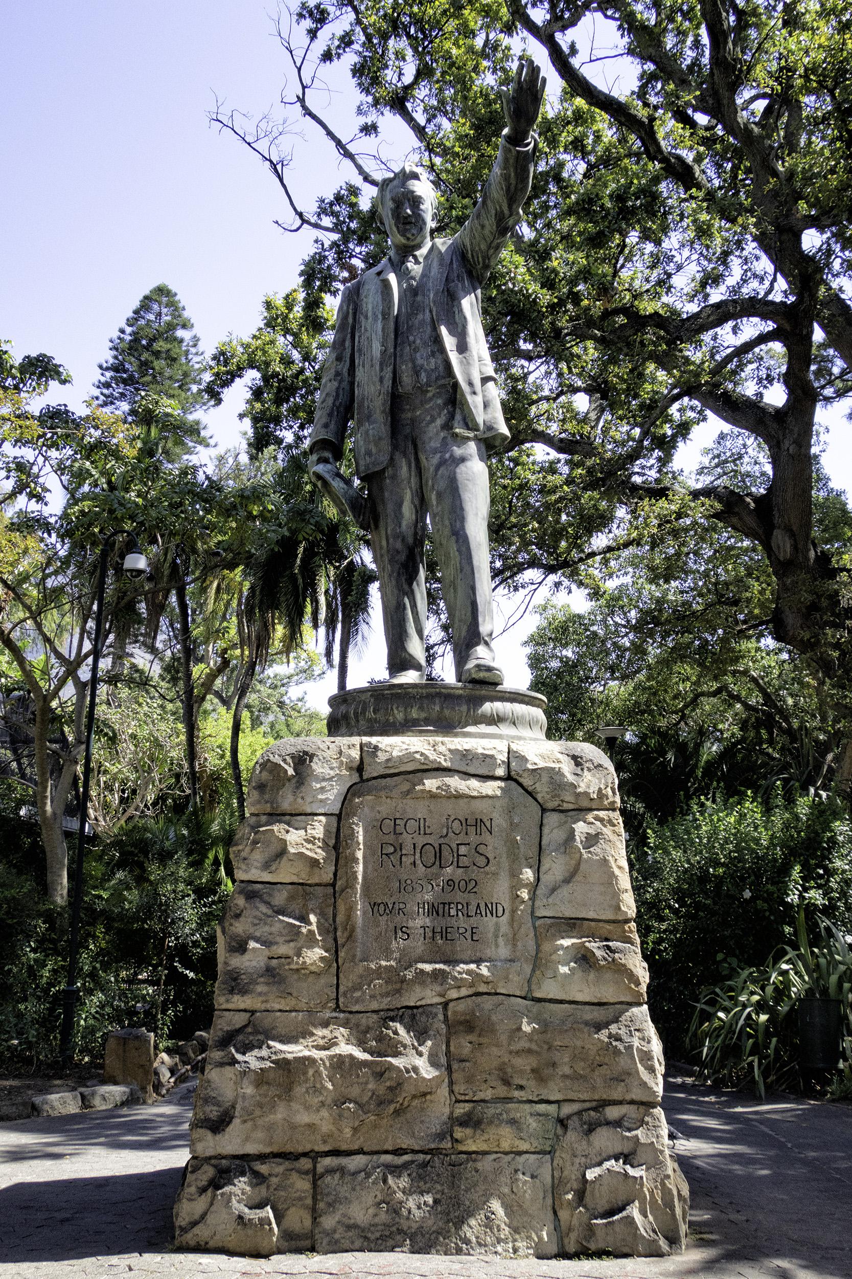 Rhodes Statue, Company's Garden, Cape Town