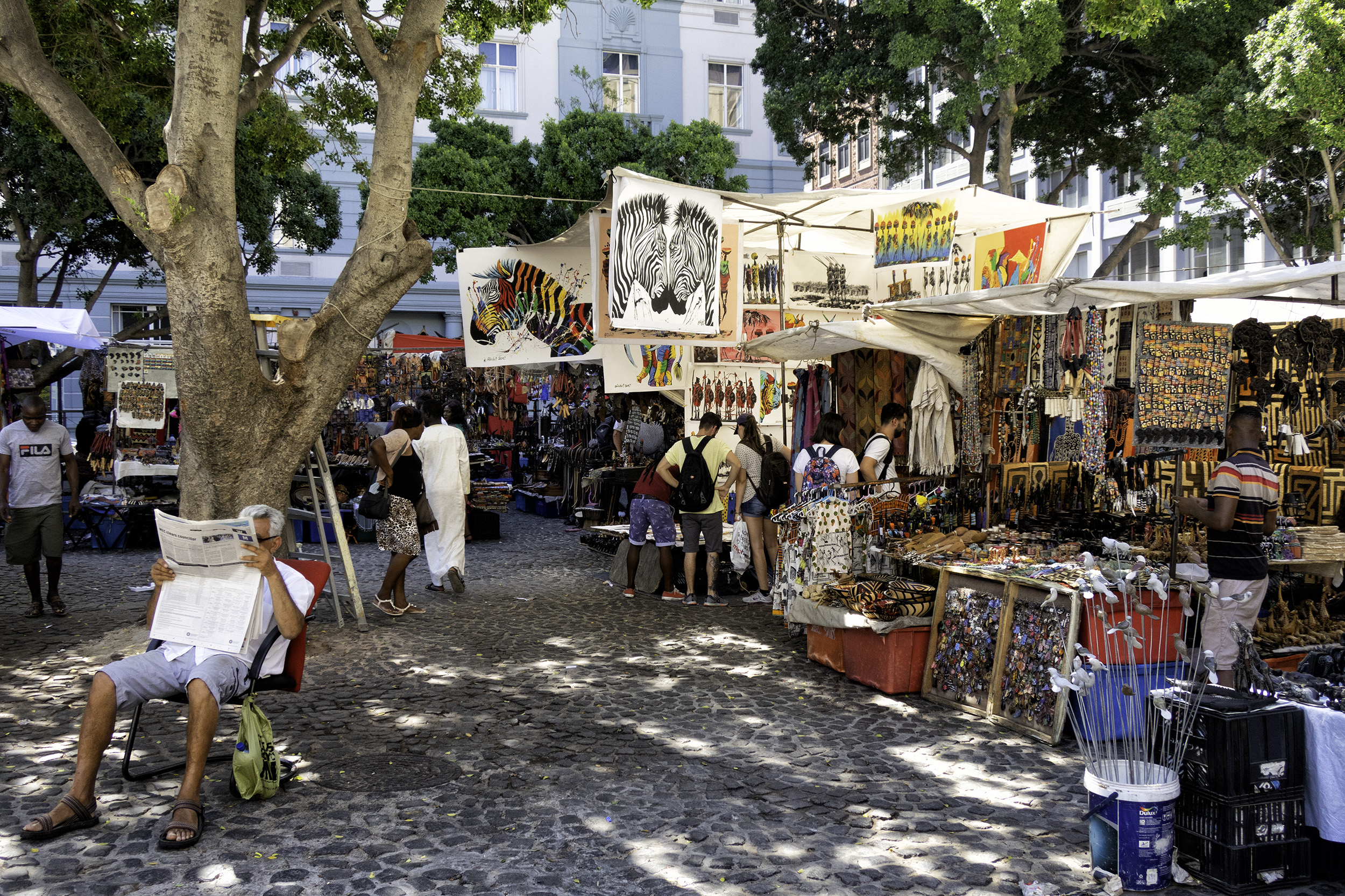 Greenmarket Square, Cape Town