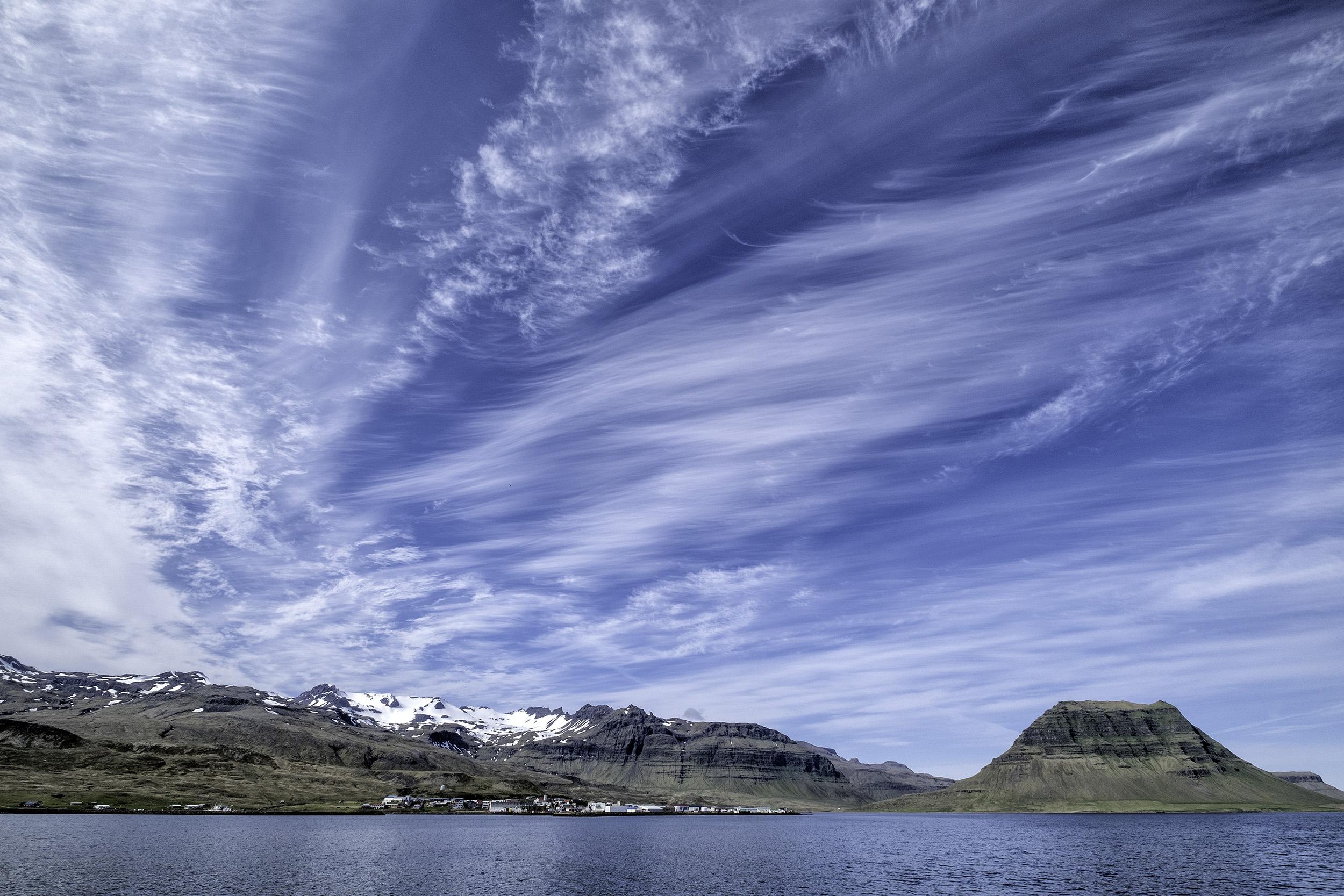 Sailing around the Westfjords