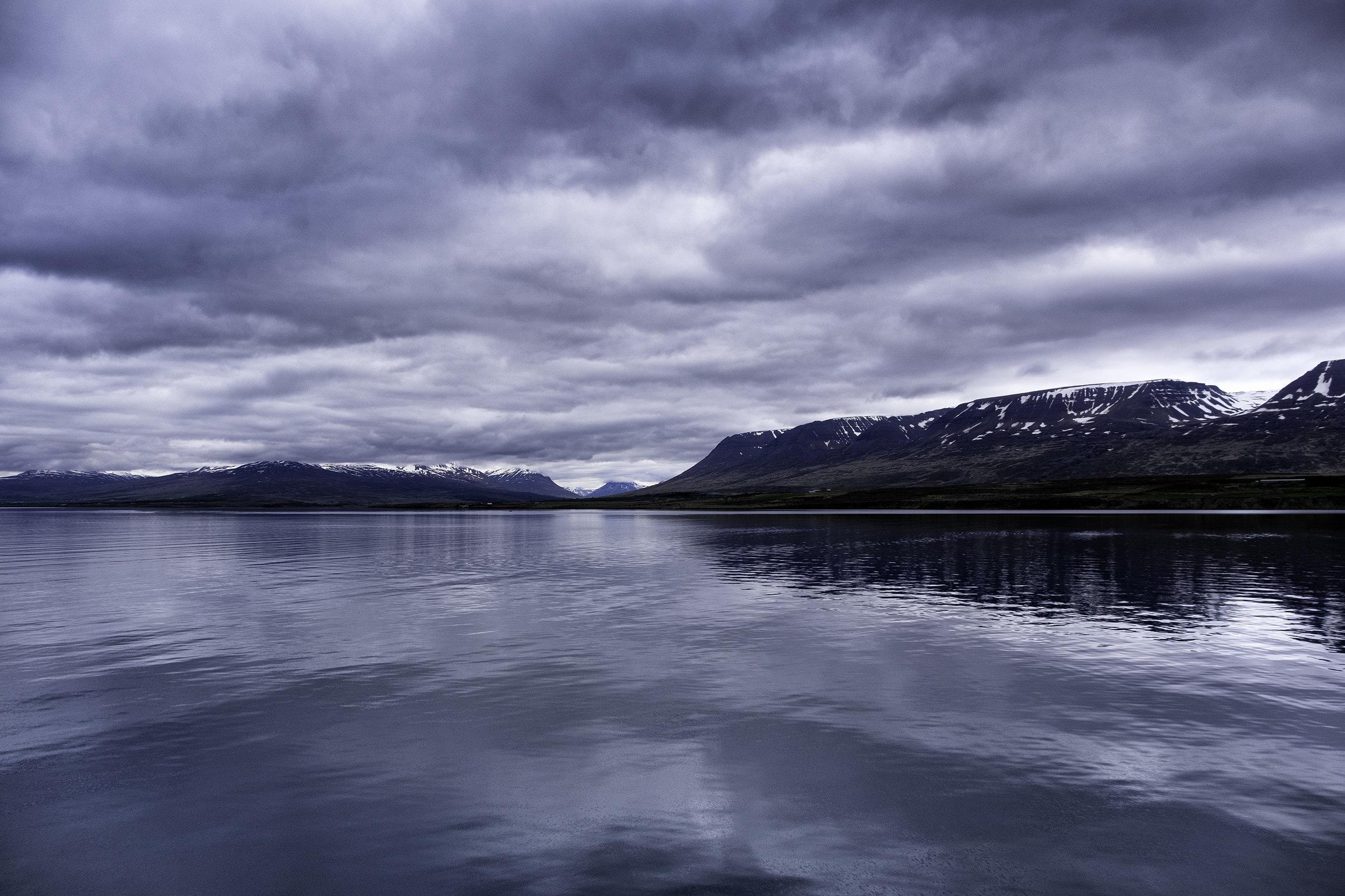 Sailing to Akureyri