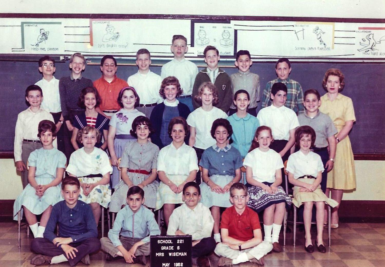 Mrs. Wiseman's 6th grade.