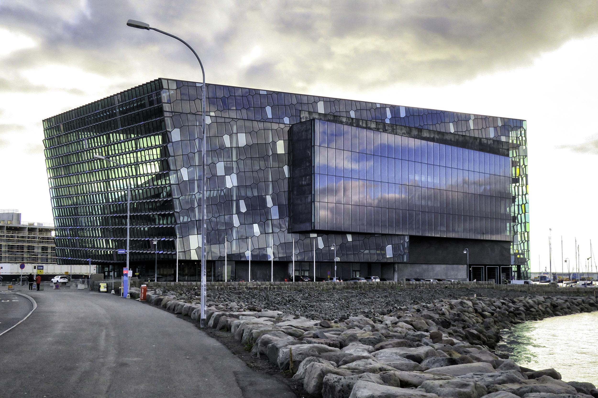 The Harpa, Reykjavik