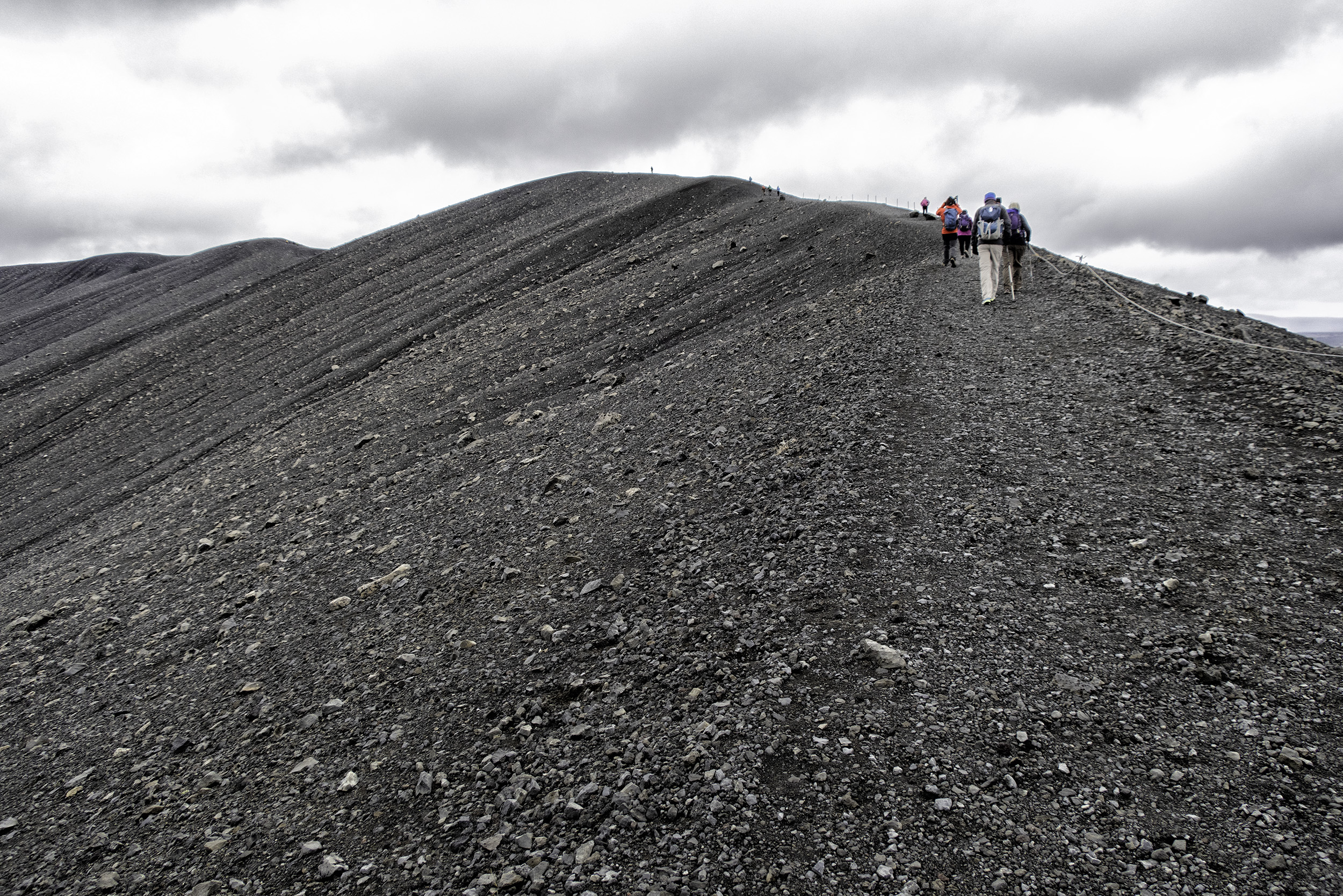 Hverfjall Volcano, Iceland
