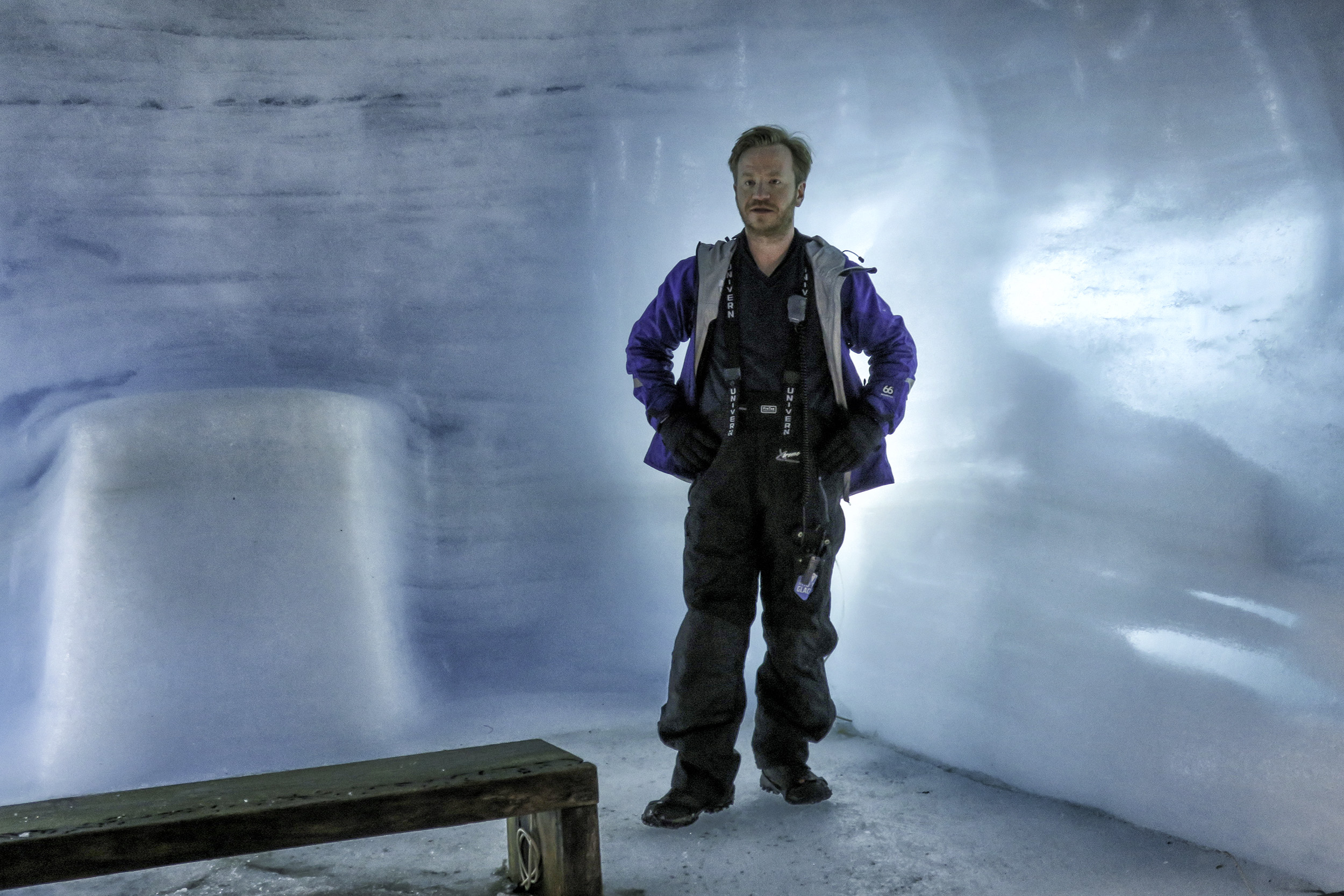Inside the Long Glacier