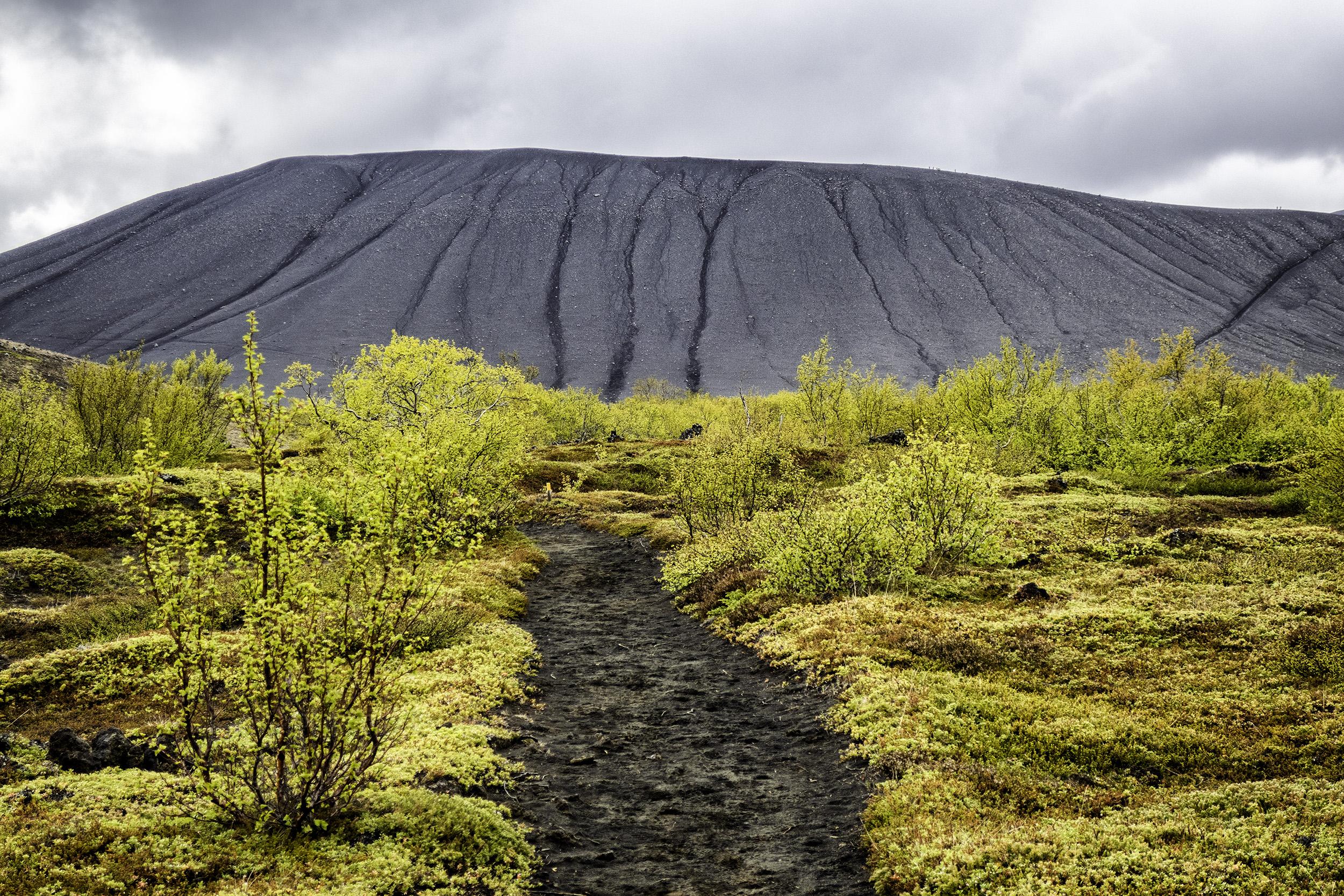 Mount Hverfjall, Iceland