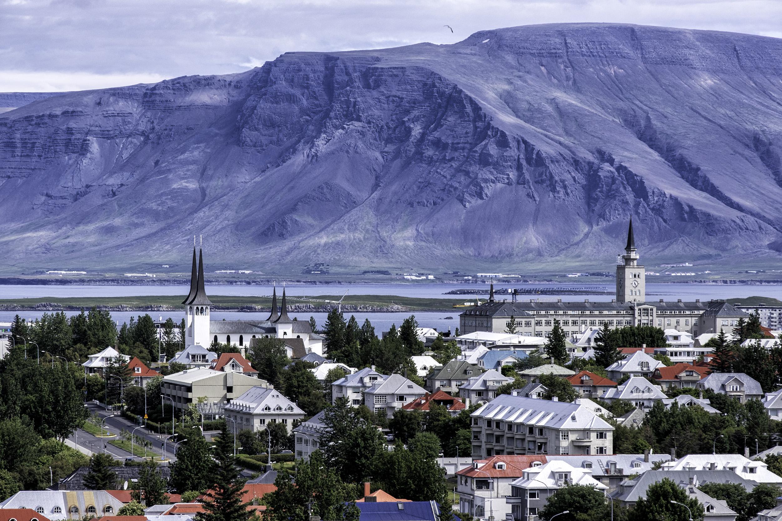 Reykjavik, from the Perlan