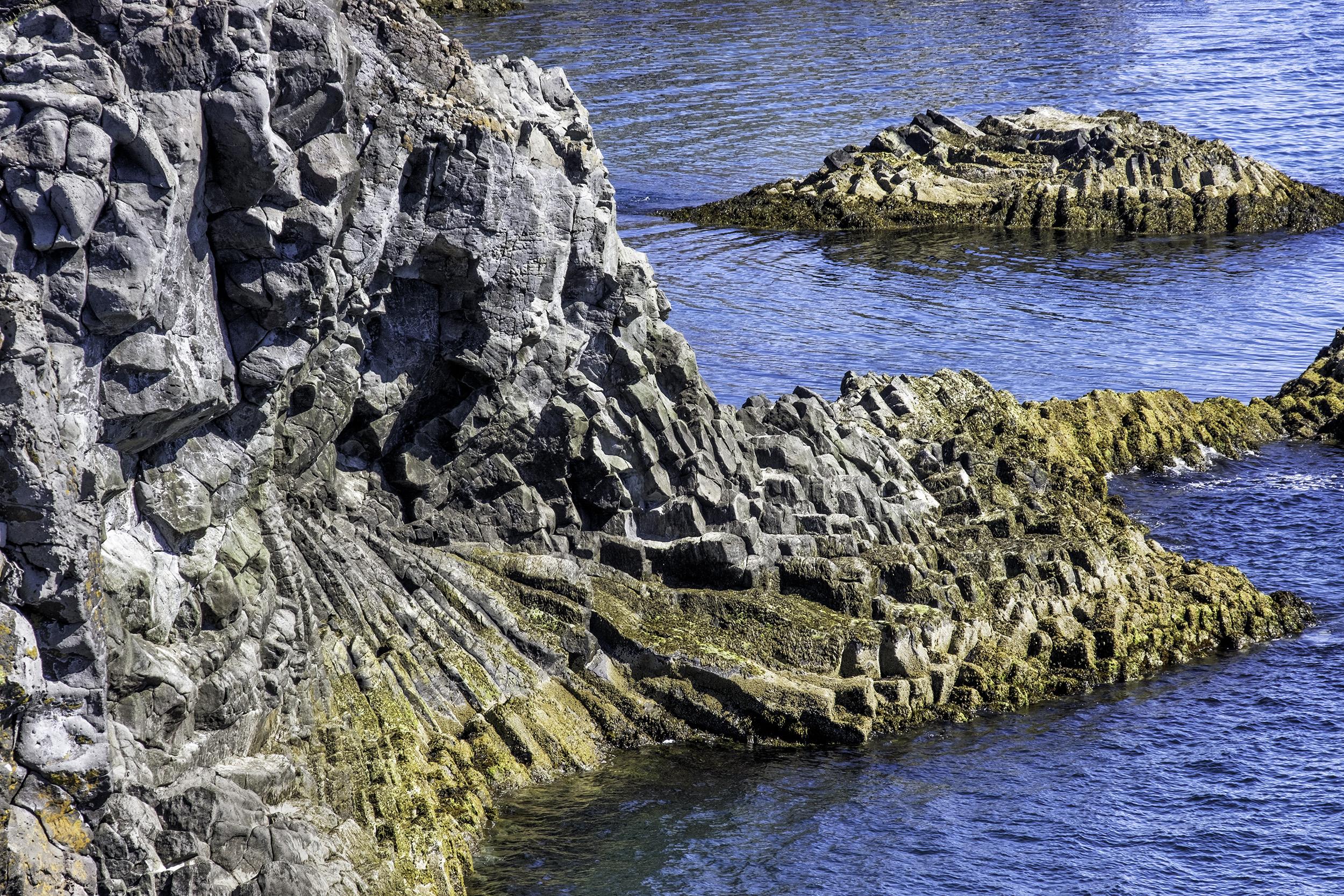Basalt formations, Arnarstapi, Iceland