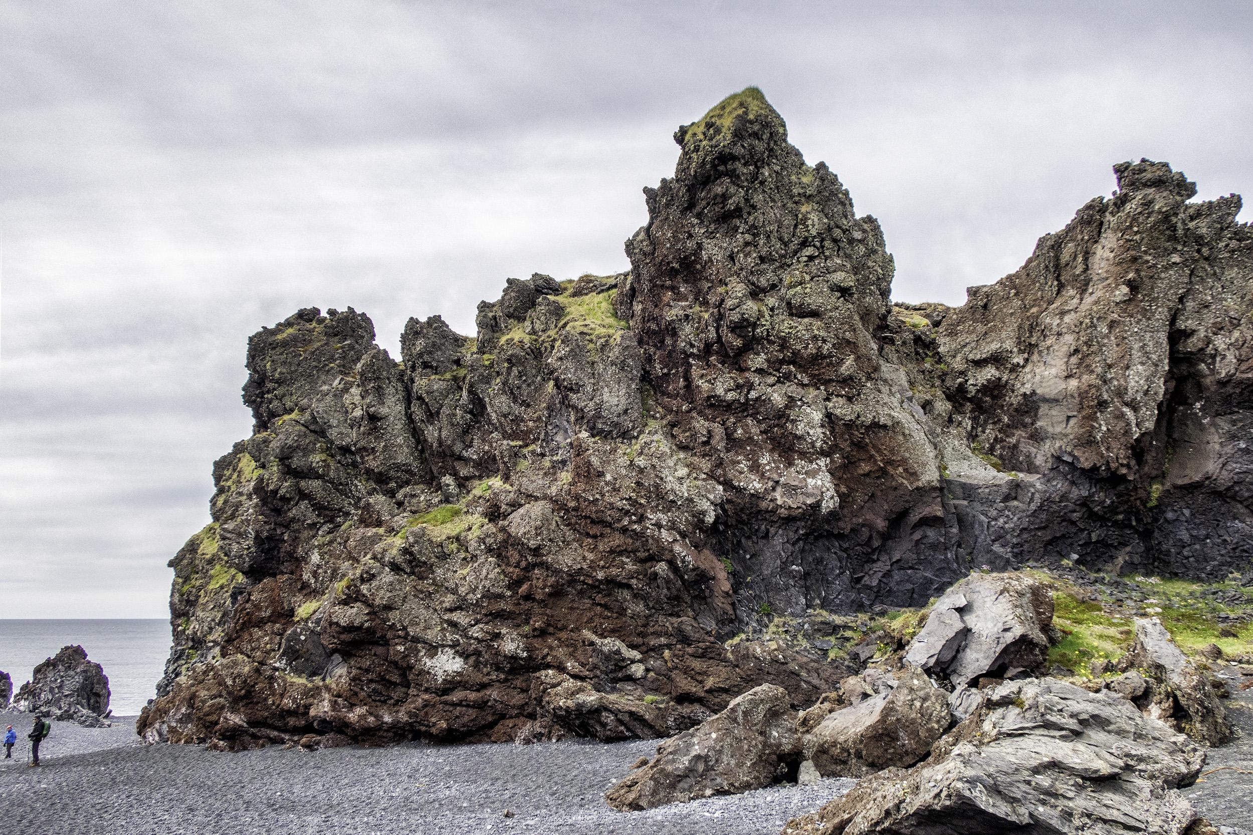 Volcanic Formations at Dritvik Djúpalónssandur