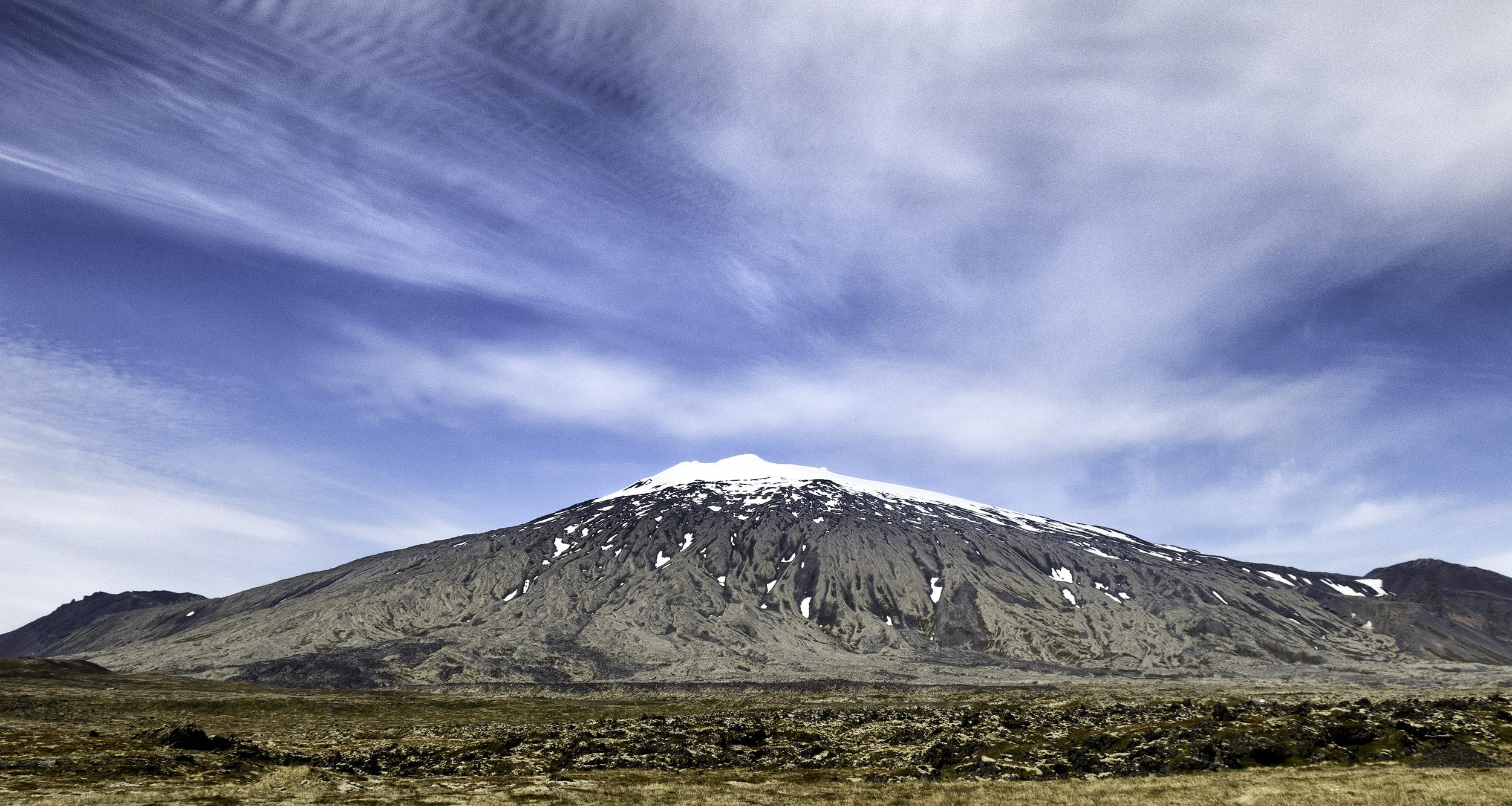Snaefells Mountain, Iceland