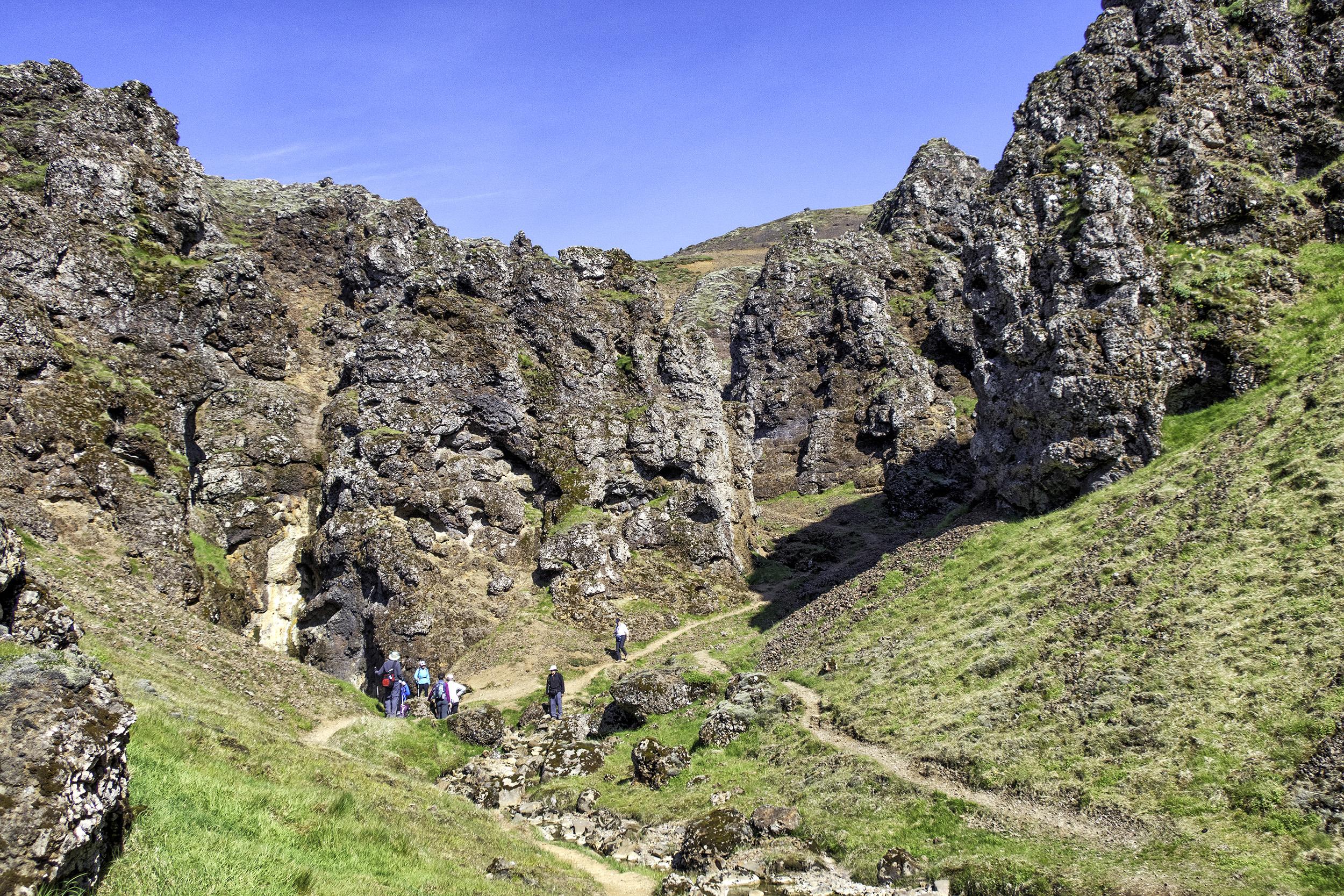 Reykjadalur Valley, Iceland
