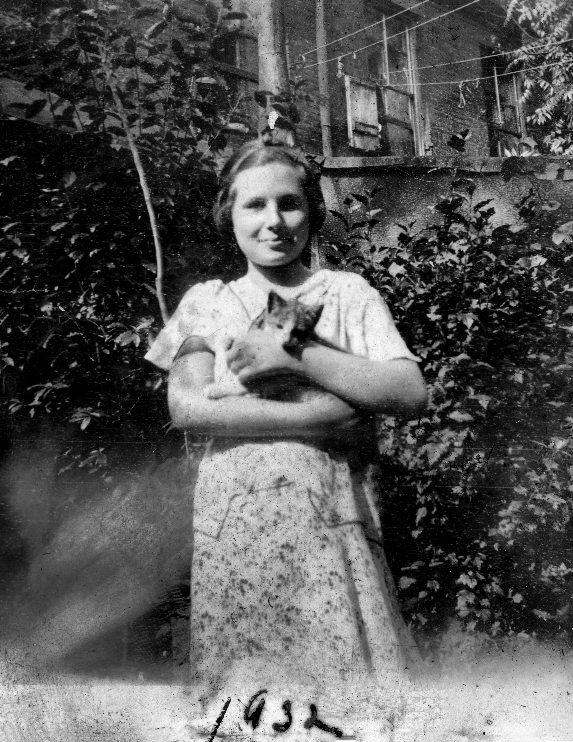 Jean in 1932