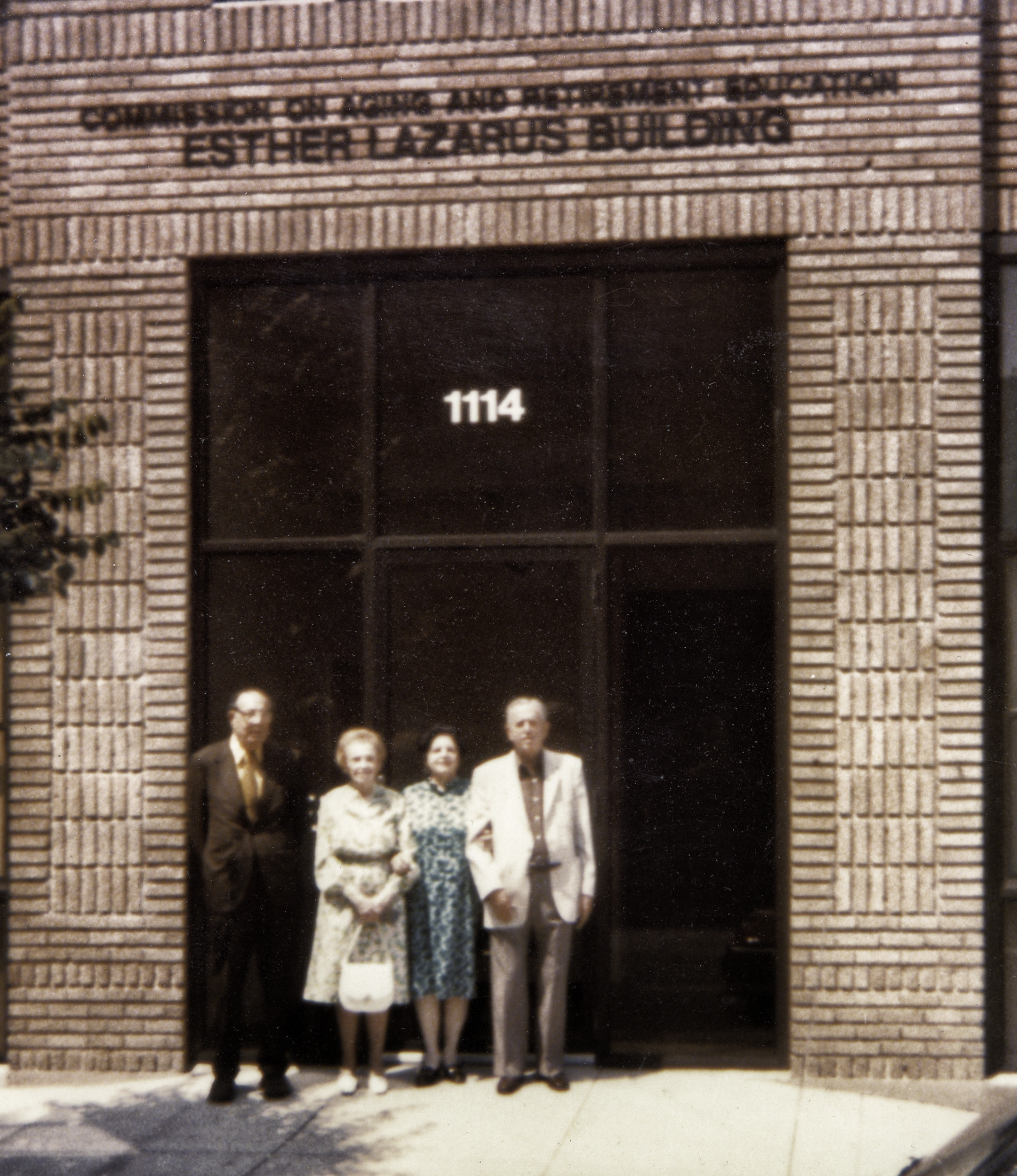 The Esther Lazarus Building on Cathedral Street in Baltimore