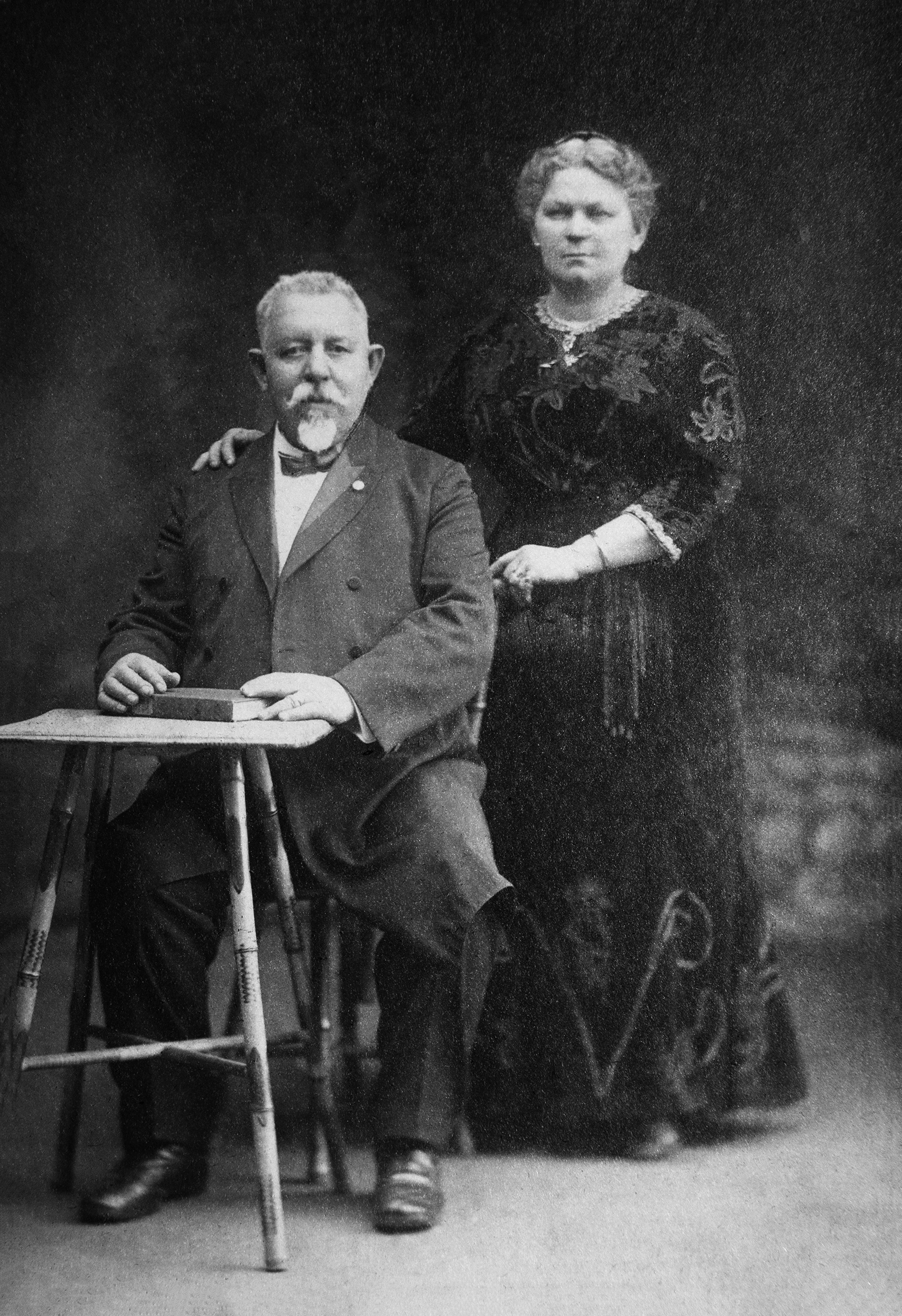Dora Adalman's mother and her mother's second husband