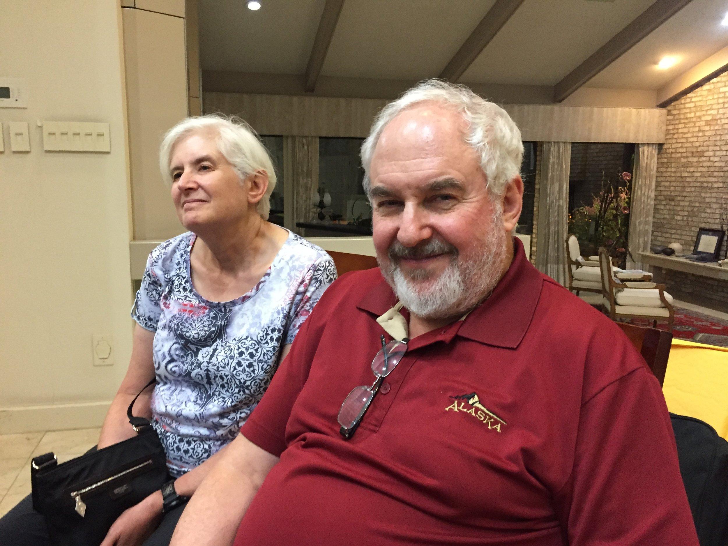 Lee Goodwin and Linda Schwartzstein