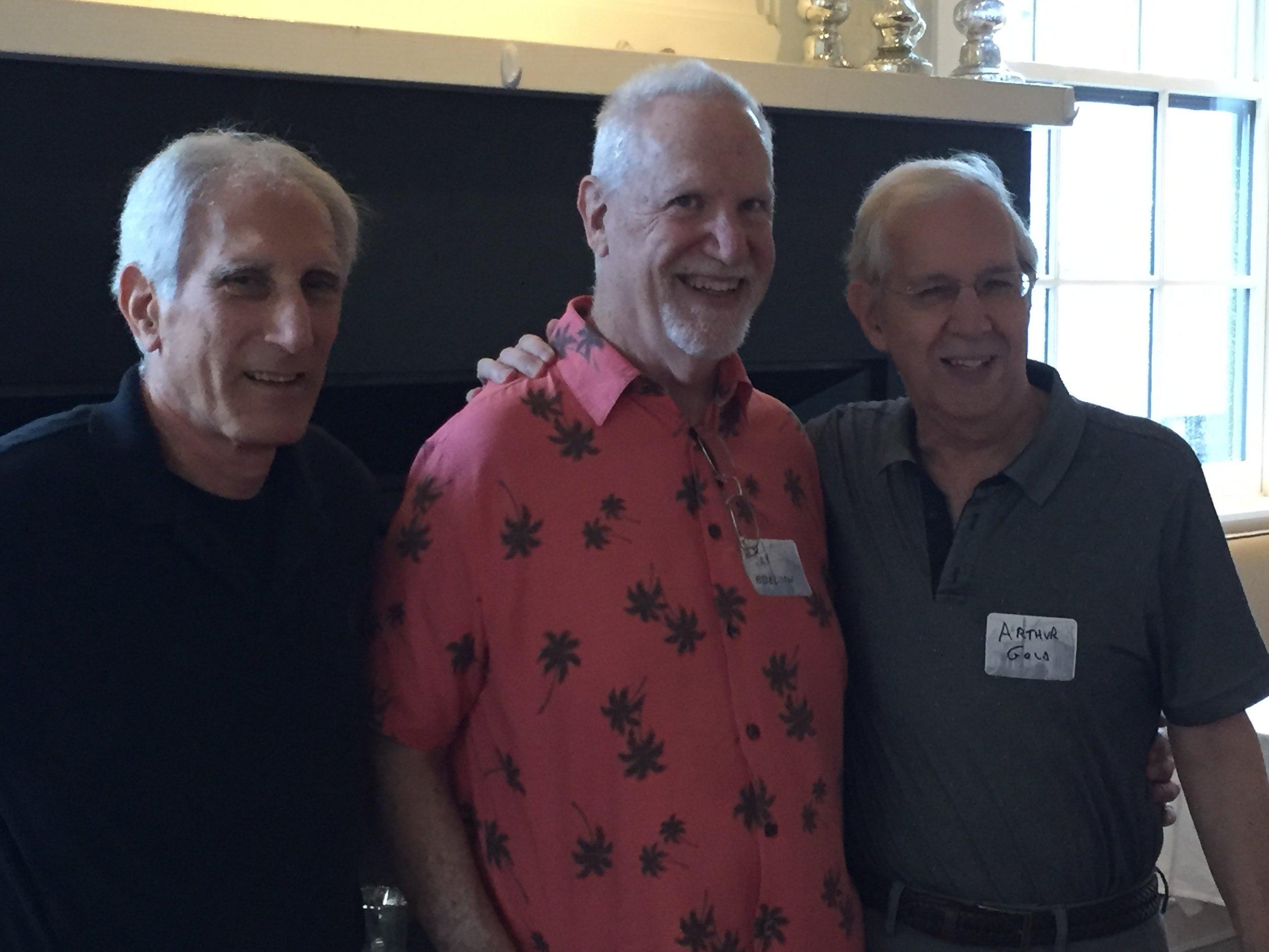 Bernie Solomon, Jay Edelson and Arthur Gold