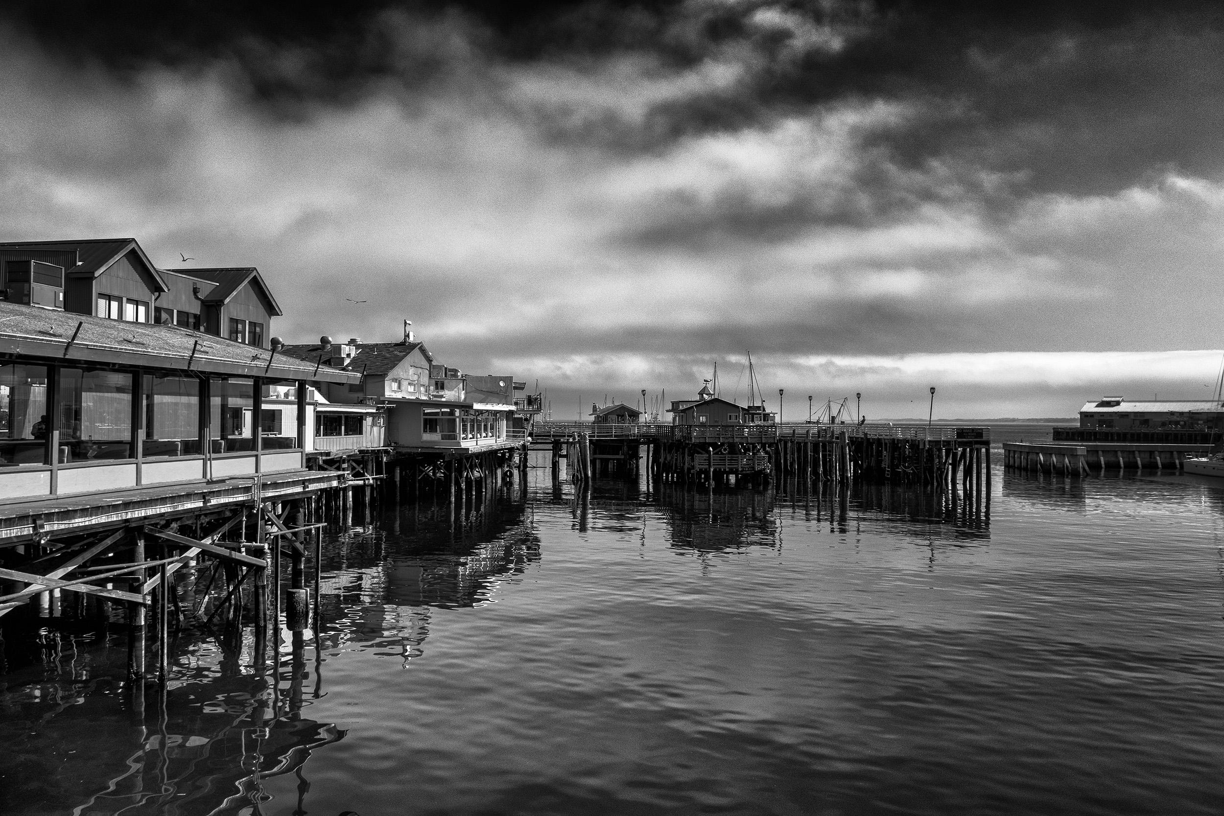 Fisherman's Pier, Monterey, CA, August Morning