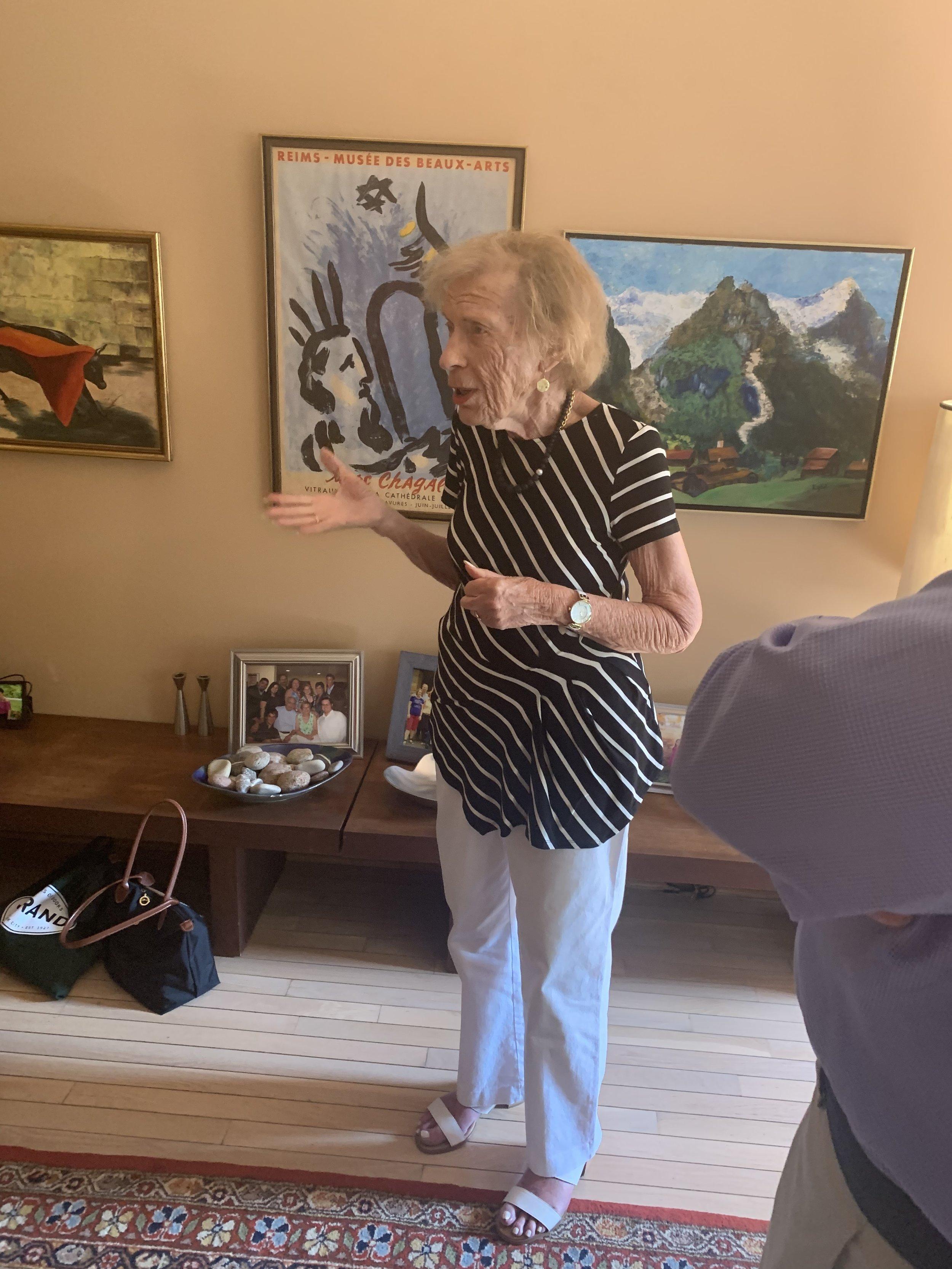 Mrs. Wiseman at 91