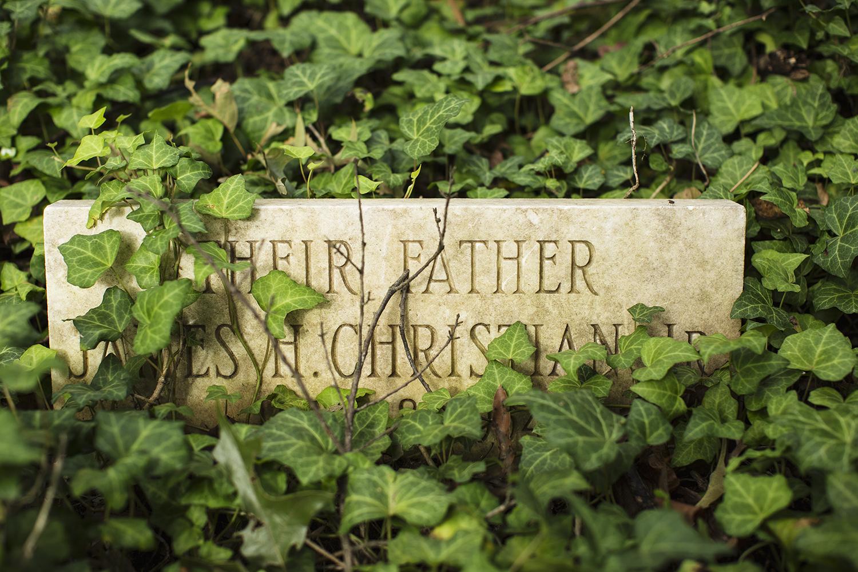 James Christian grave marker.East End Cemetery, Henrico County, Virginia, October 2015. Photo: ©BP