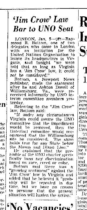 Richmond Times-Dispatch, January 6, 1946