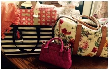Various designer purses - Sponsored by J. Hyman