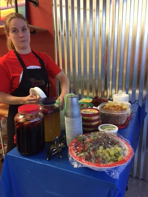 Food table sponsored by WRC.JPG
