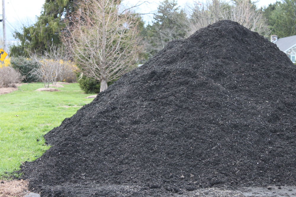 Black-dyed Mulch