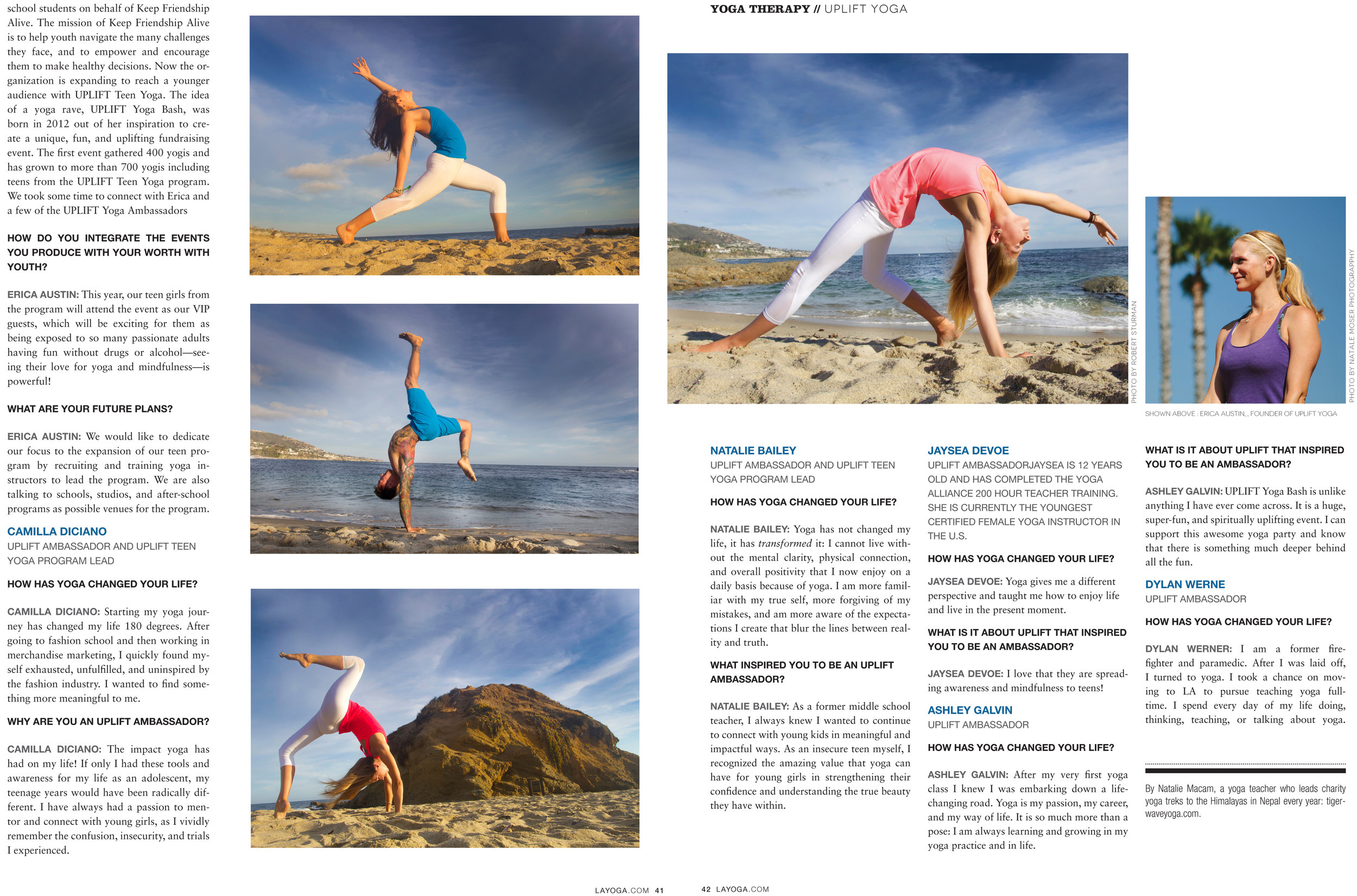 LA Yoga Magazine, September 2014