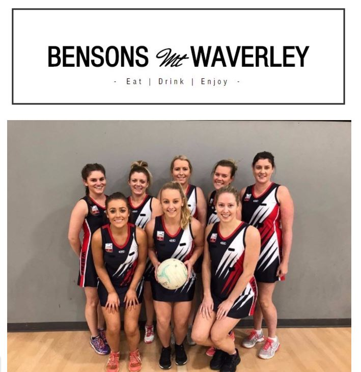Team Sponsor Bensons Mt Waverley and our new playing uniforms!