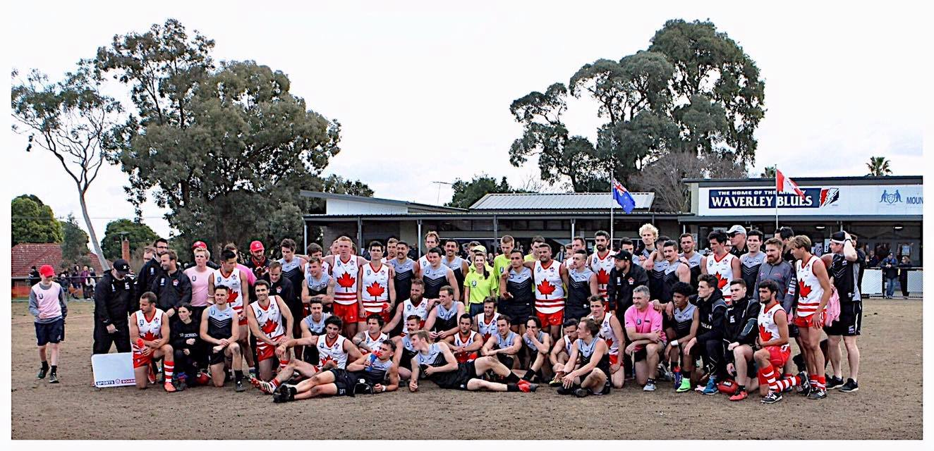 AFL International Cup - New Zealand vs Canada at Mt Waverley Reserve (August 2017)