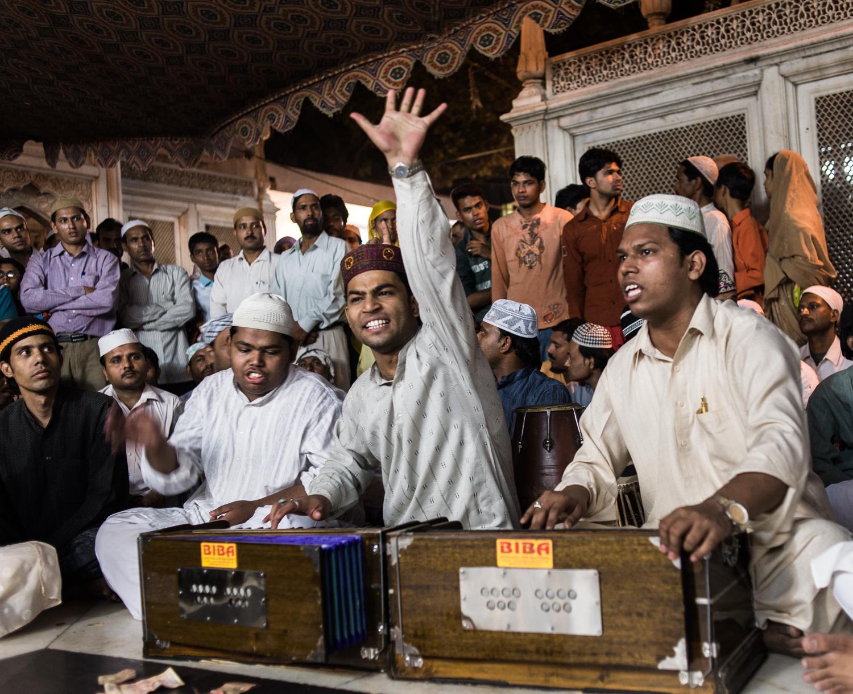 Sufi Shrine Delhi India