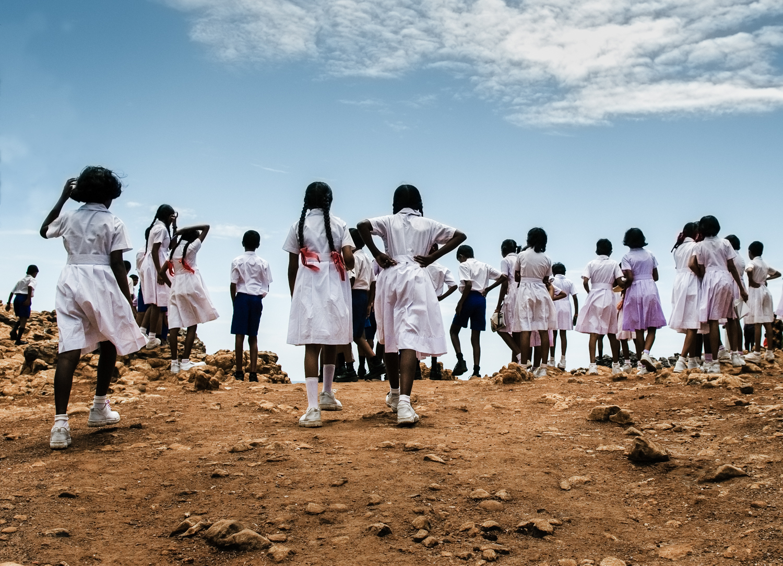 School kids Sri Lanka