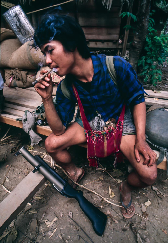 Karen Soldier Burma