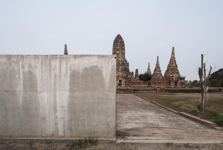 Wat Chai Watthanaram,Ayutthaya, Thailand, 2015