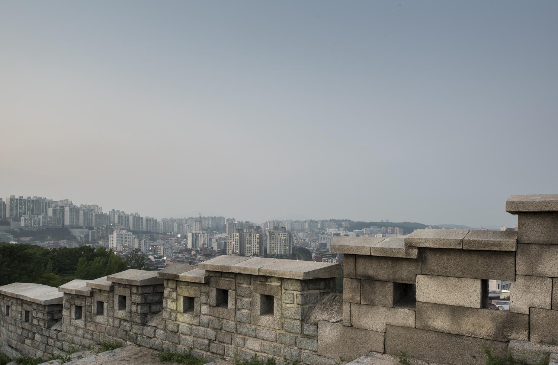 Seoul, South Korea, Old City Wall, 2015