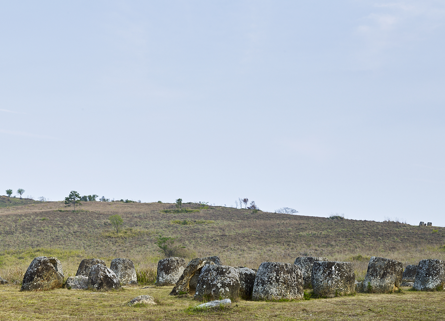 Jars, Plain of Jars, Xiang Khouang Plateau, Laos, 2016