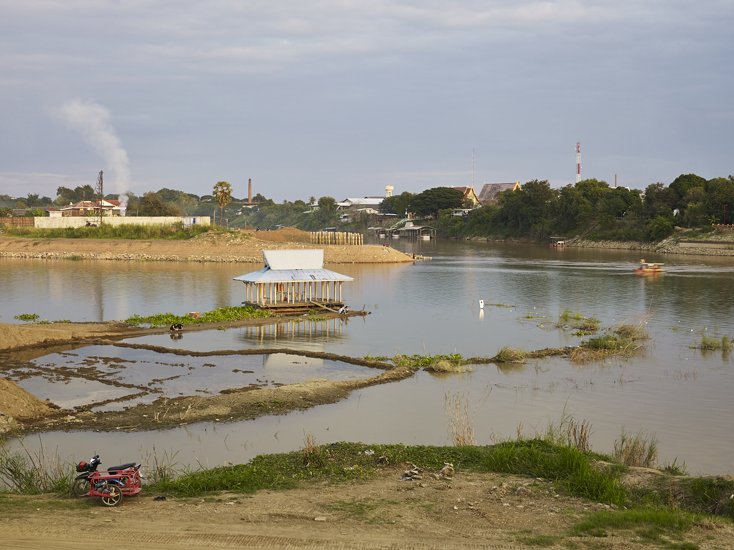 Start of the Chao Phraya River, Nakhon Sawan, Thailand, 2016