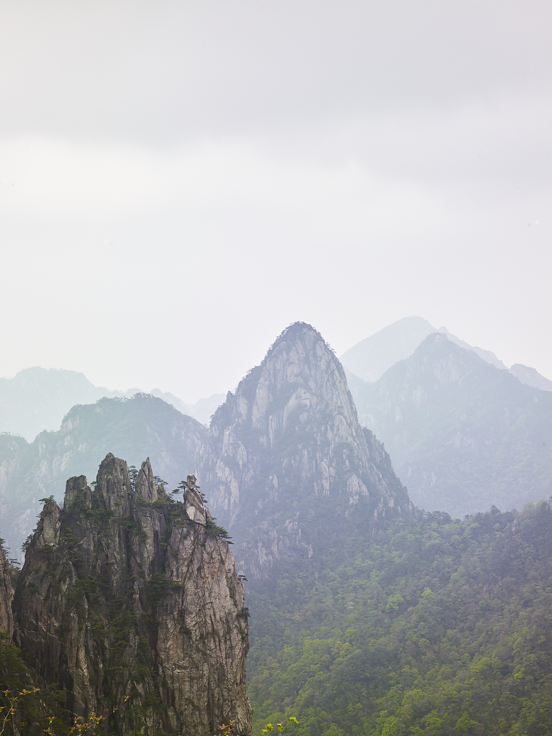 Huangshan Mountain, China, 2017