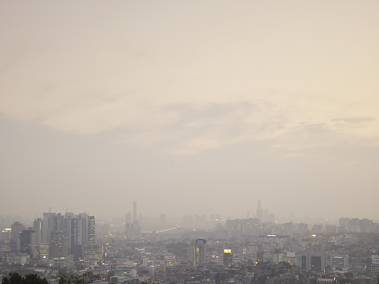 Seoul view from Namsan Park, Seoul, South Korea, 2016