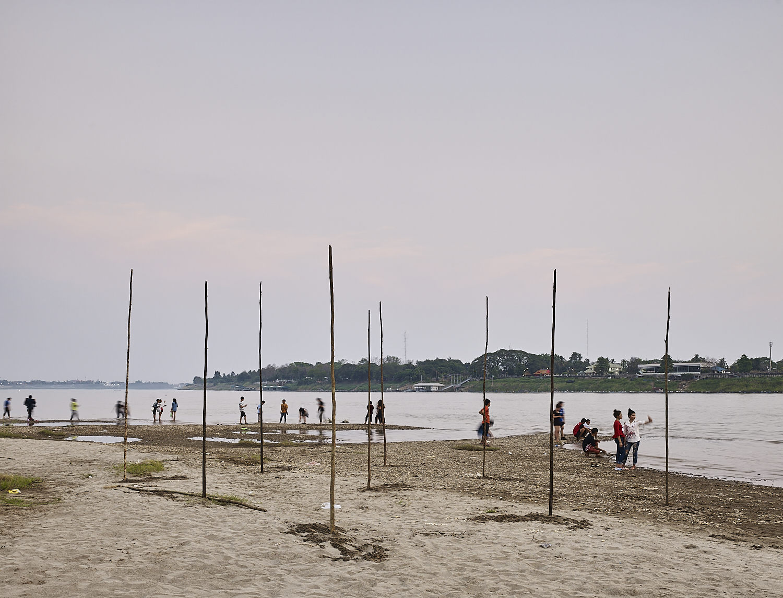 sand 06, Mekong River, Vientiane, Laos, 2018