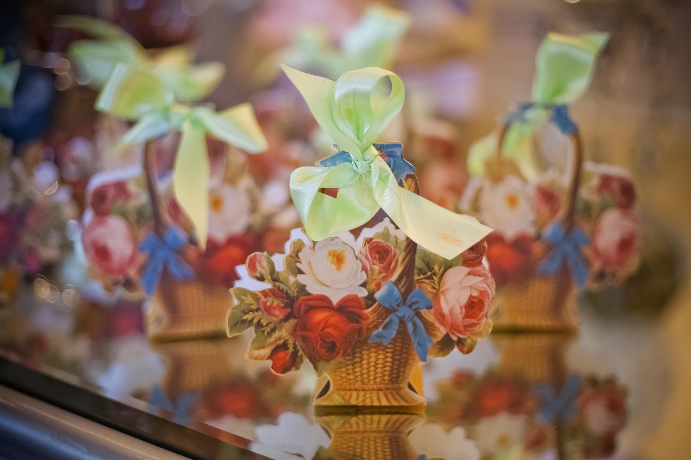 Cestinha de Flor (Papel): R$16,50 (valor unitário para 20 peças)