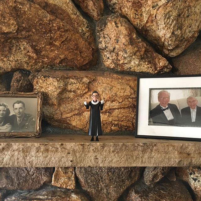 """My Aunts' wedding didn't have a minister... but it did have justice!  Also: hiking with family, mountains that I would describe as """"rocky,"""" trout, and elk above the tree line. #colorado"""