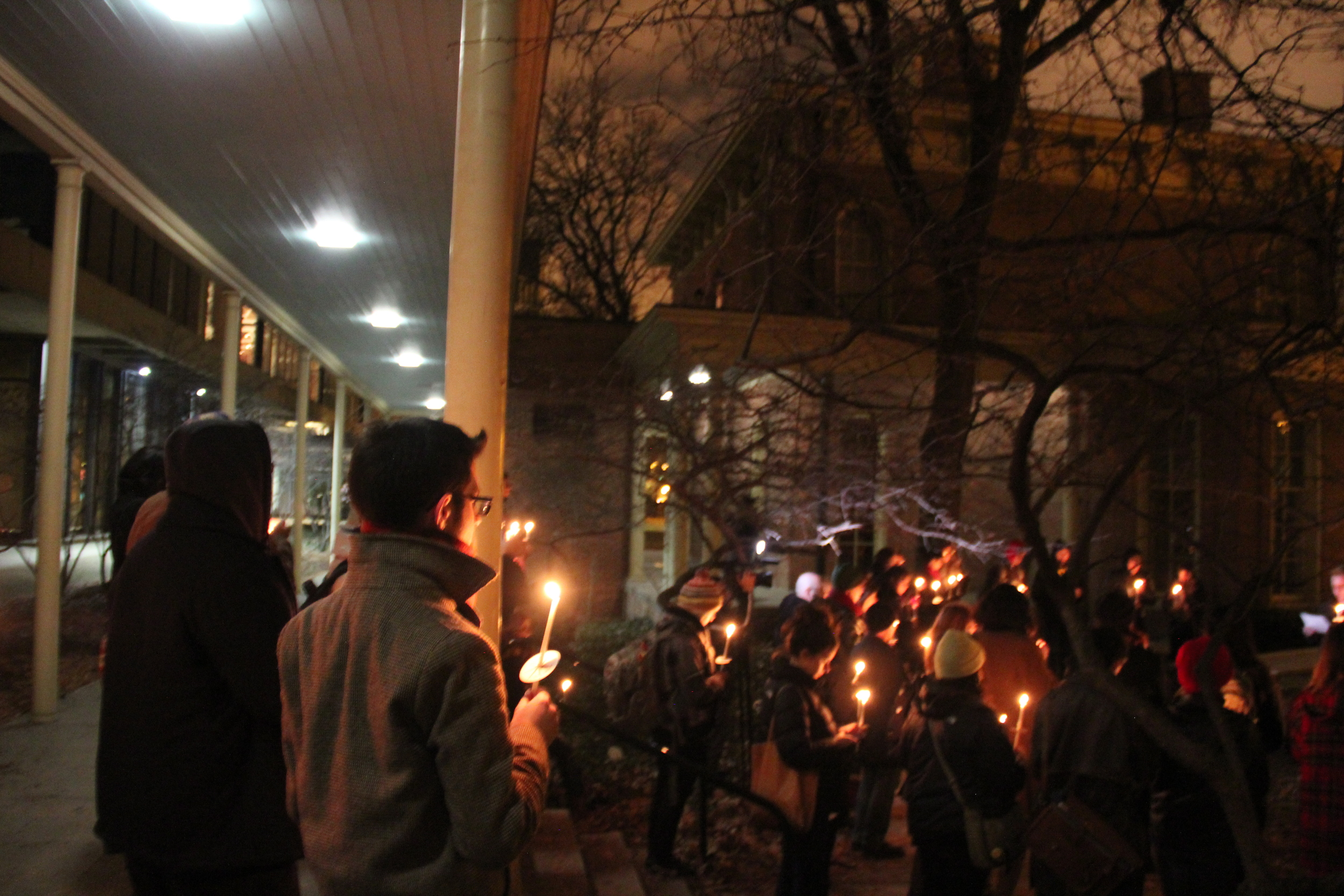 Thomas Alaan, one of our board members, was among the CALA representatives at SWOP's march and vigil.