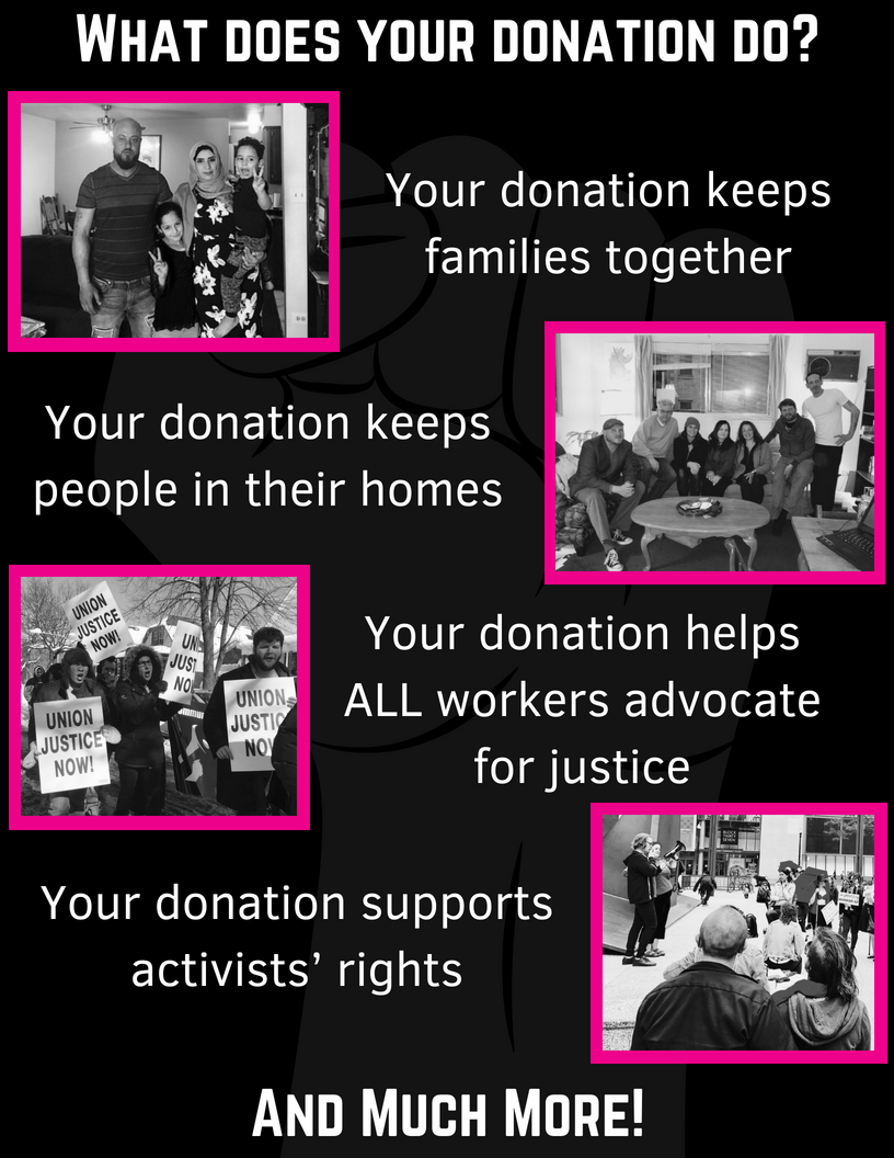 Your Donation Contributes to Justice