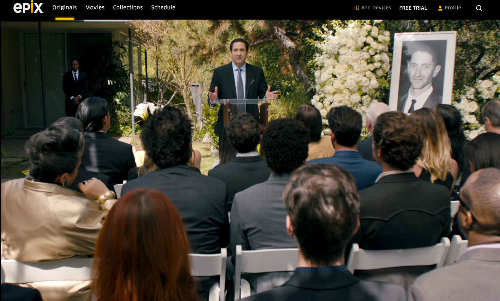 David Babich appearing in Get Shorty, season 2, Episode 4.