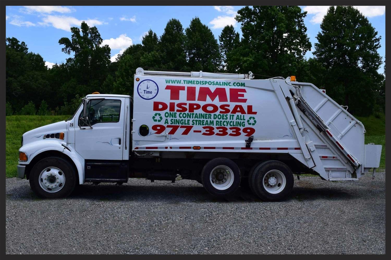 Rear-Loading Residential Trash Truck