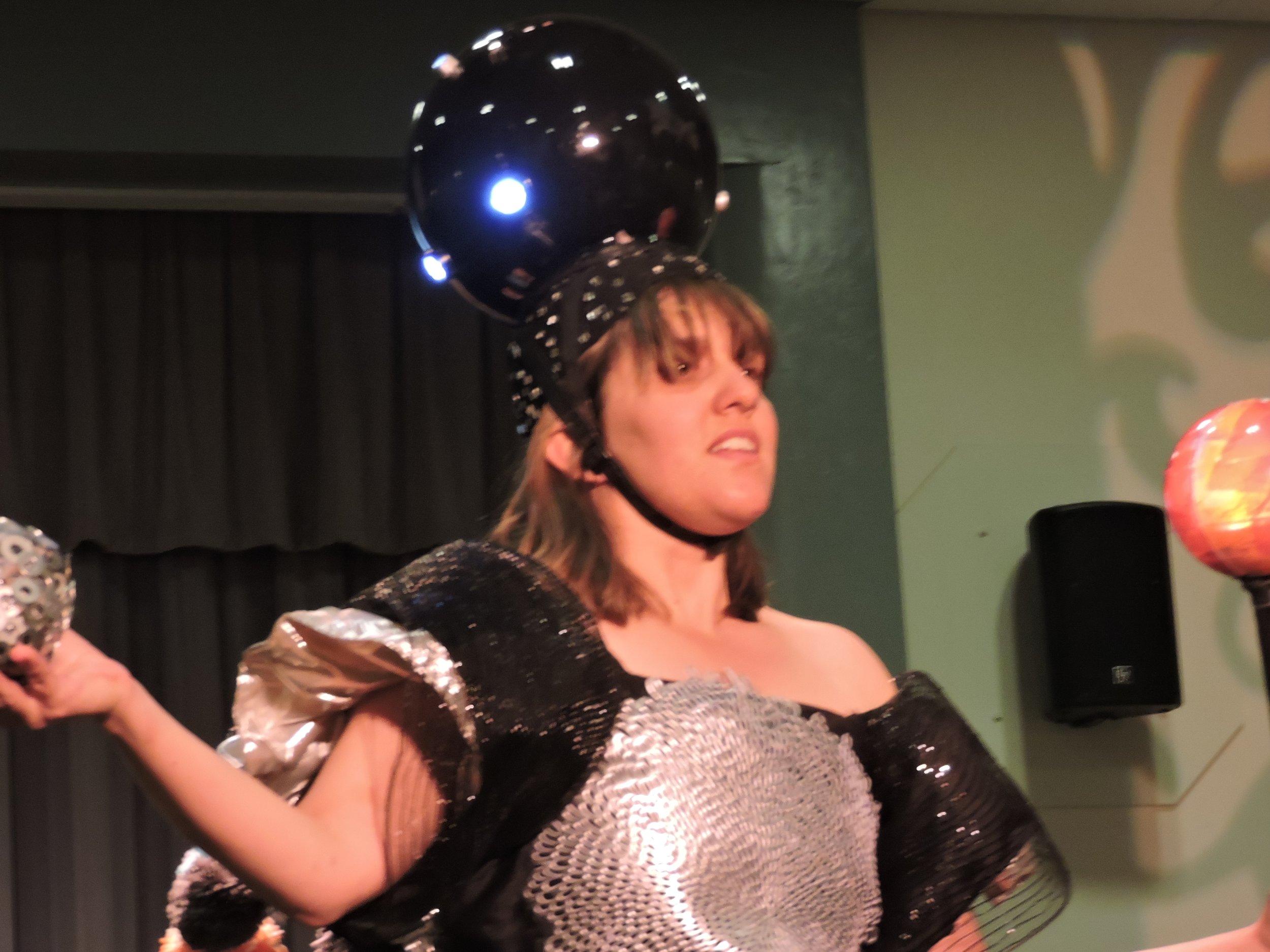 Trashion Fashion rehearsal planetarium headpiece 040519.jpg