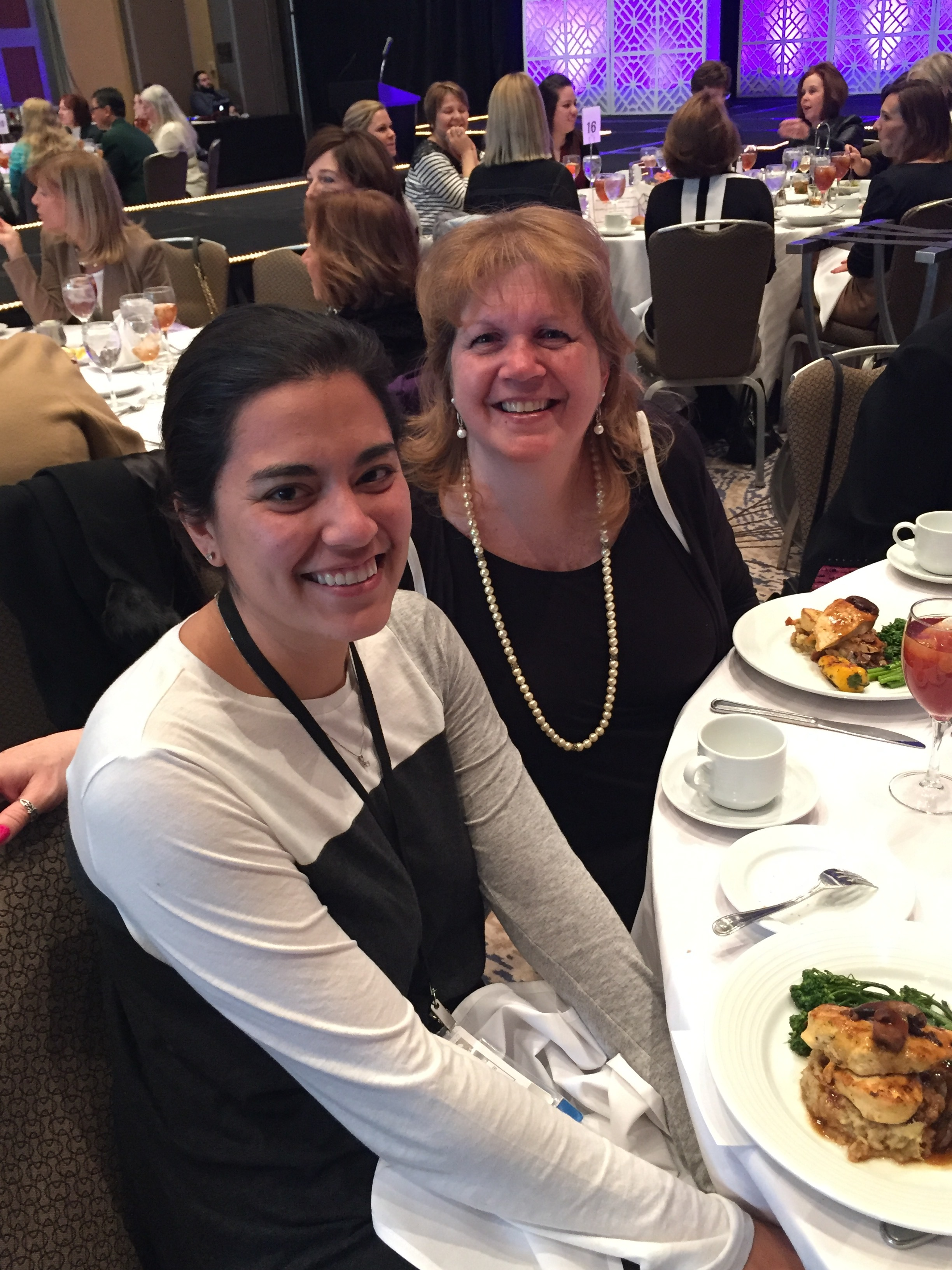Dr. Thiki Bertrand and Mrs. Gayle Biasiello at the Midwinter Meeting 2016